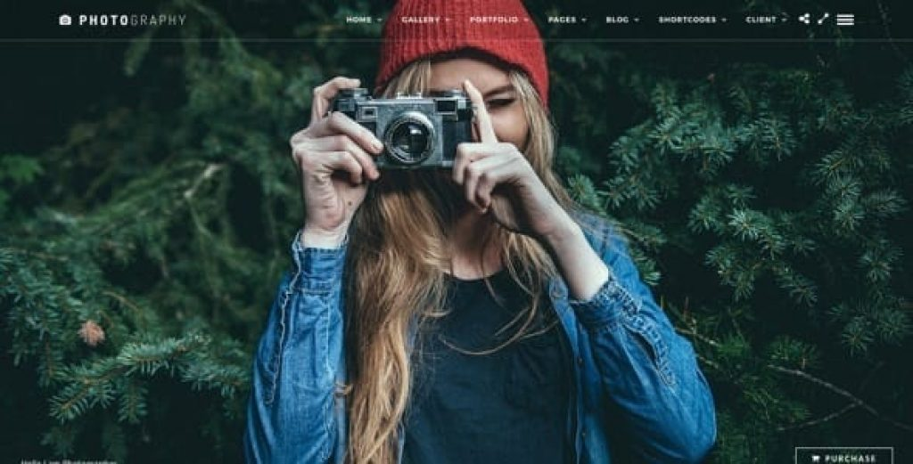 Photography Responsive Photography Theme