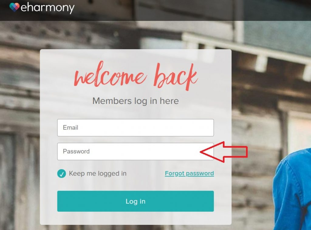 eharmony com login