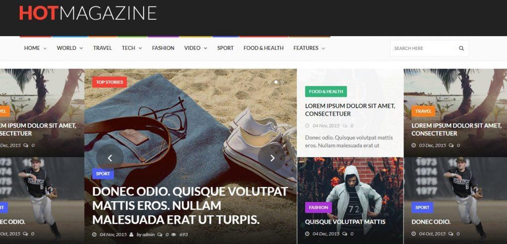 Hotmagazine – News & Magazine WordPress Theme