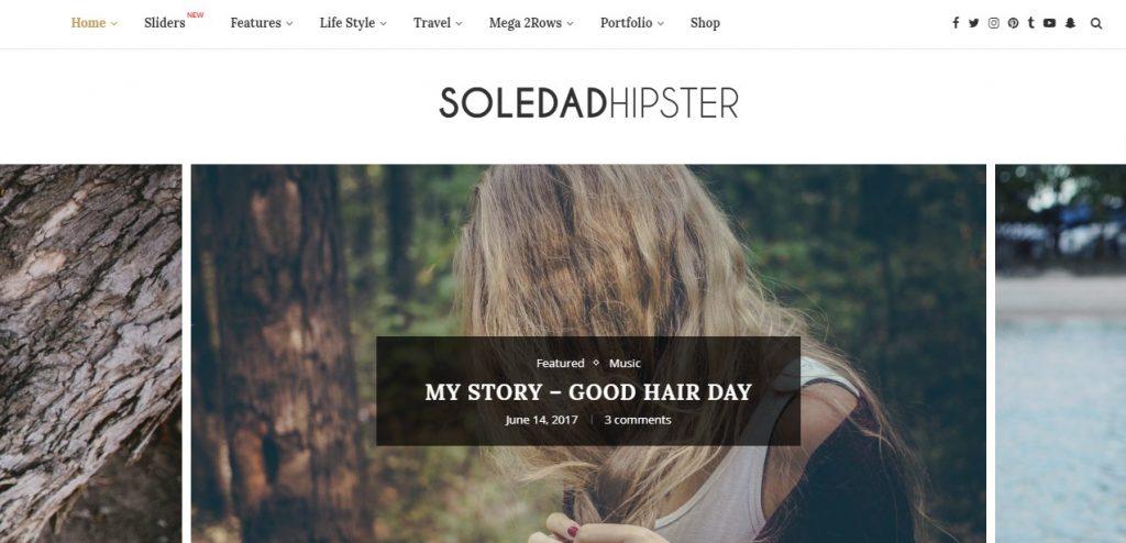 Soledad – Multi-Concept BlogMagazine WP Theme