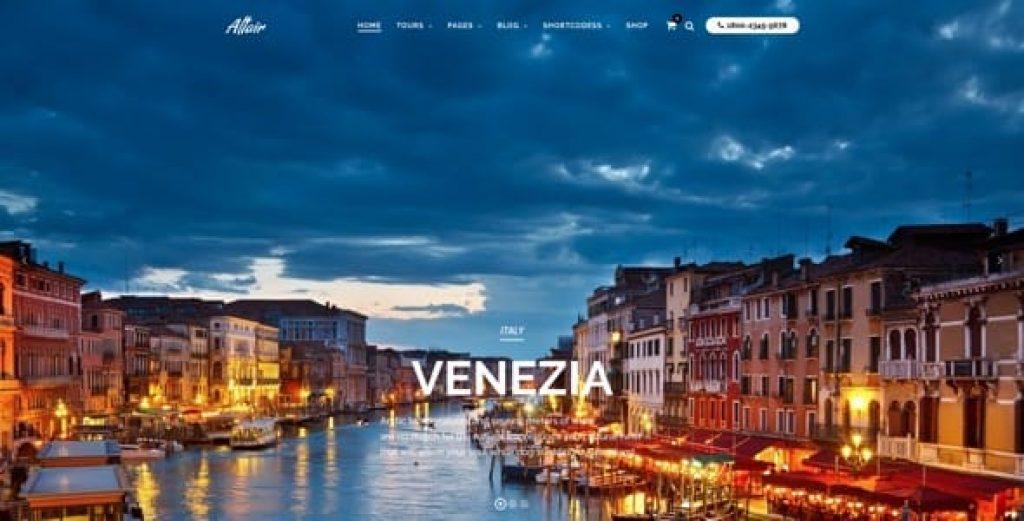 Tour Travel Agency Altair Theme