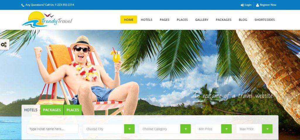 Trendy Travel – The Tour, Travel & Travel Agency Theme