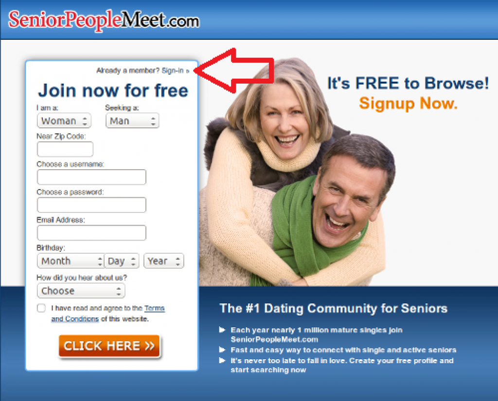 SeniorPeopleMeet Online Dating Reviews - Login & App Guide