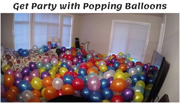Get Party with Popping Balloons